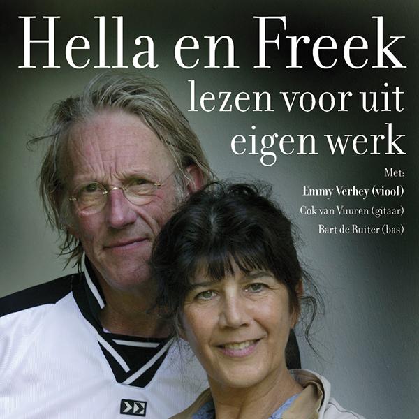 Afbeelding voor voorstelling Freek en Hella lezen voor